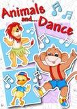 Tampa - animais e dança Fotografia de Stock Royalty Free