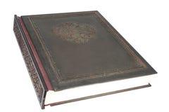 A tampa antiga do livro imagens de stock royalty free