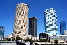 Tampa Architecture Royalty Free Stock Photography