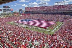 Tampa Bay εναντίον του Ντιτρόιτ Στοκ φωτογραφία με δικαίωμα ελεύθερης χρήσης