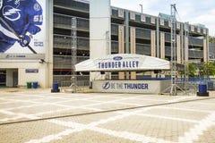 Tampa Bay που ανάβει το στάδιο ψυχαγωγίας Στοκ Φωτογραφίες