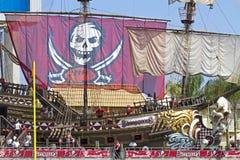 Tampa Bay против Детройта Стоковое Изображение RF