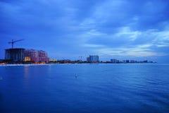Tampa bay beach Royalty Free Stock Photo