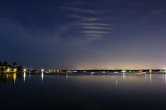 Tampa Bay - bouche de la rivière de lamantin photo stock