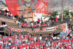 Tampa Bay Buccaneers Lizenzfreie Stockfotos