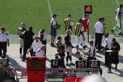 Tampa Bay contra Nova Orleães Imagem de Stock Royalty Free