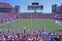 Tampa Bay contro Detroit Fotografia Stock