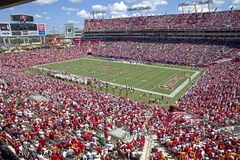 Tampa Bay contro Detroit Fotografie Stock