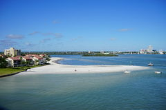 Tampa bay. In Florida, USA Royalty Free Stock Images