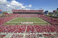 Tampa Bay gegen Detroit Lizenzfreie Stockfotos