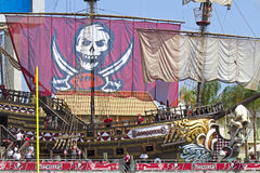 Tampa Bay gegen Detroit Lizenzfreies Stockbild