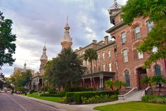 Since 1933, the Tampa Bay Hotel has been home to the Henry B. Plant Museum and The University of Tampa. stock images
