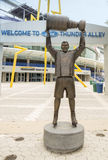 Tampa Bay Lightning Captain Raising Stanley Cup Statue Royalty Free Stock Photo