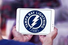 Tampa Bay Lightning-Eis-Hockey-Team-Logo Lizenzfreies Stockbild