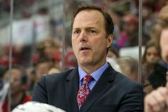 Tampa Bay Lightning head coach Jon Cooper Royalty Free Stock Photos