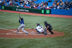 Tampa Bay Rays at Toronto Blue Jays Royalty Free Stock Image