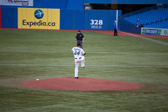 Tampa Bay Rays at Toronto Blue Jays Stock Photography