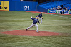 Tampa Bay Rays at Toronto Blue Jays Stock Images