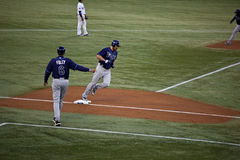 Tampa Bay Rays at Toronto Blue Jays Stock Photo