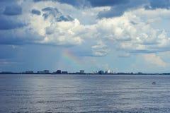 Tampa Bay Regenbogen Lizenzfreies Stockfoto