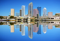 Tampa Bay Skyline Stock Photo