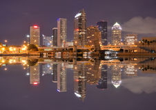 Tampa Bay Skyline Royalty Free Stock Photos