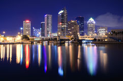 Free Tampa Bay Skyline Stock Photography - 23916022