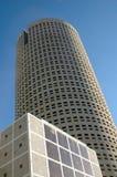 Tampa céntrica, edificio redondo Fotos de archivo libres de regalías