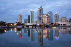 Tampa céntrica, la Florida Fotos de archivo libres de regalías