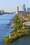 Tampa Channel, Florida Stock Image