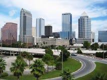 Tampa cityskape Obrazy Royalty Free