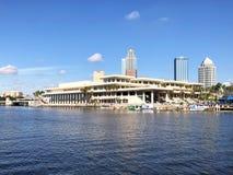 Tampa Convention Center Imágenes de archivo libres de regalías