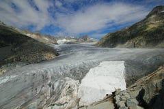 Tampa da caverna de gelo de Rhone Foto de Stock Royalty Free