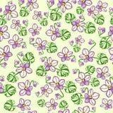 Tampa da flor Fotografia de Stock