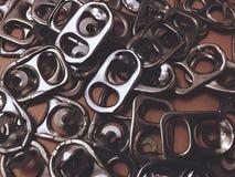 Tampa de alumínio Imagem de Stock Royalty Free