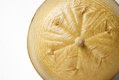 Tampa de bambu da malha Imagem de Stock