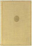 Tampa de livro antiga Imagens de Stock