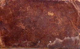 Tampa de livro de couro velha Fotos de Stock Royalty Free