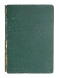 A tampa de livro de couro velha isolou-se Foto de Stock Royalty Free