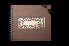 Tampa de livro do estilo de Java. Fotos de Stock Royalty Free