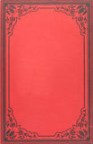 Tampa de livro do vintage Imagens de Stock Royalty Free