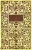 Tampa de livro do vintage Imagens de Stock