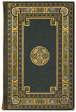 Tampa de livro francesa 1901 do vintage, edição 7/100 Imagens de Stock Royalty Free