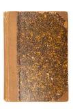 Tampa de livro marrom velha Imagem de Stock