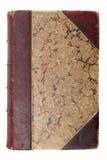 Tampa de livro marrom velha Imagens de Stock