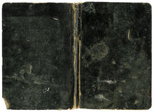 Tampa de livro preto Fotografia de Stock Royalty Free