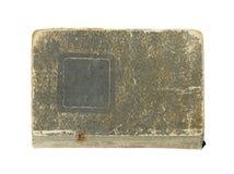 Tampa de livro velho isolada no branco Imagens de Stock Royalty Free