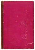 Tampa de livro vermelha Fotografia de Stock Royalty Free