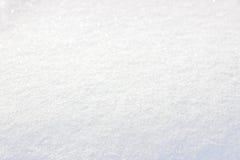 Tampa de neve branca pura Fotografia de Stock Royalty Free