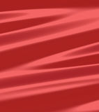 Tampa de tela de seda vermelha do metal Imagens de Stock Royalty Free